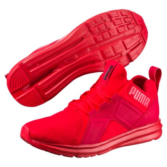 c8cdc7774e5d NWOT Puma Enzo High Risk Kids Jr Sneaker Sz  4.5. M 5b2d0f37e944baef8523bd99